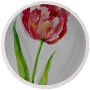 Watercolor Series No.  228 Round Beach Towel