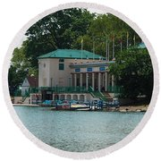 Waterfront Round Beach Towel