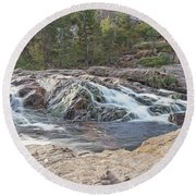 Watery Way Round Beach Towel