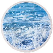 Wave 3 Round Beach Towel