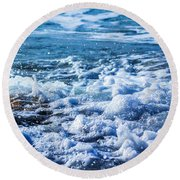 Wave 4 Round Beach Towel