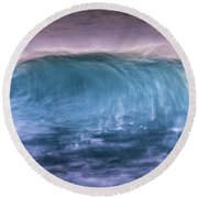 Wave Round Beach Towel