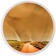 Way Outback Round Beach Towel