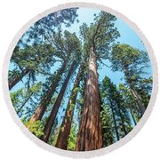 Round Beach Towel featuring the photograph We Are Nothing- by JD Mims