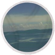Round Beach Towel featuring the photograph We Are One by Laurie Search