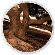 We Would -- Screaming Trees Round Beach Towel