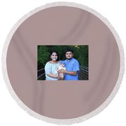 Wedding Gift Round Beach Towel