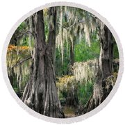 Weeping Canopy Round Beach Towel