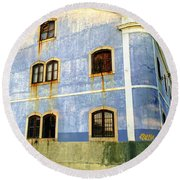 Weeping Windows Round Beach Towel