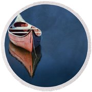 Well Anchored Round Beach Towel