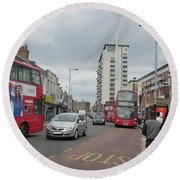 Wembley High Road - Northwest London Round Beach Towel