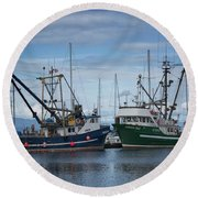 Wespak And Pender Isle Round Beach Towel by Randy Hall