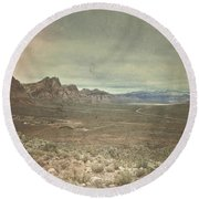 West Round Beach Towel by Mark Ross