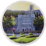 West Point Parade Round Beach Towel