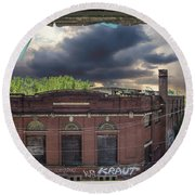 Westinghouse In A Storm Round Beach Towel