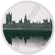 Westminster Reflection Round Beach Towel
