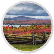 Westmore Overlook Round Beach Towel