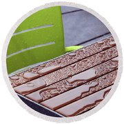 Wet Table Round Beach Towel