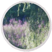 Wetlands Impressions Round Beach Towel