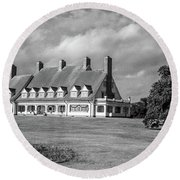 Whalehead Club Round Beach Towel