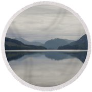 What, Do You See? Round Beach Towel