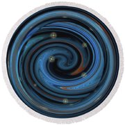 What Matters At 3 A. M. Round Beach Towel