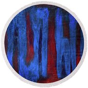 What The...? Round Beach Towel