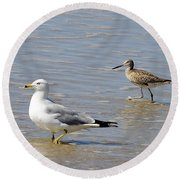 Outer Banks Obx Round Beach Towel