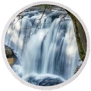 Whatcom Falls Round Beach Towel