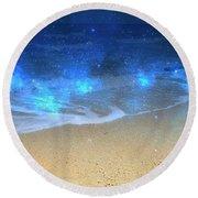 Where Dreams Come True 7 Round Beach Towel