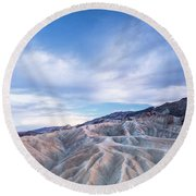 Where To Go Round Beach Towel by Jon Glaser