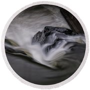 Whetstone Canyon Round Beach Towel