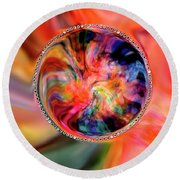 Wild Is This Abstract Round Beach Towel