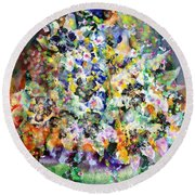 Whinsy Round Beach Towel