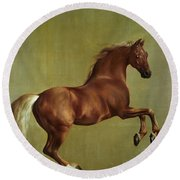 Whistlejacket Round Beach Towel