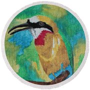 White-fronted Bee-eater  Round Beach Towel