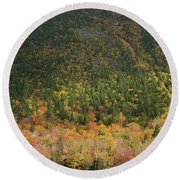White Mountain Round Beach Towel