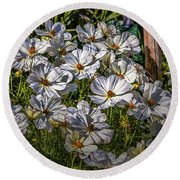 Round Beach Towel featuring the photograph White, White, White #h8 by Leif Sohlman
