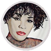 Whitney Round Beach Towel