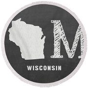 Wi Home Round Beach Towel
