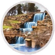 Wichita Falls Round Beach Towel