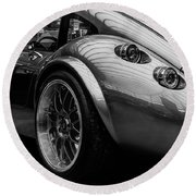 Wiesmann Mf4 Sports Car Round Beach Towel