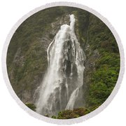 Wild New Zealand Round Beach Towel