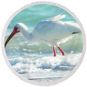 Wild Winds Round Beach Towel