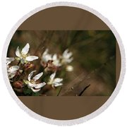 Round Beach Towel featuring the photograph Wildflowers by Marna Edwards Flavell