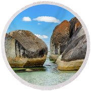 William Bay 2 Round Beach Towel