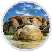 William Bay Round Beach Towel