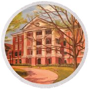 William Peace University Round Beach Towel