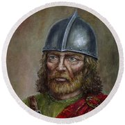 William Wallace Round Beach Towel