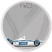 Williams Bmw Fw23 F1 Poster Round Beach Towel